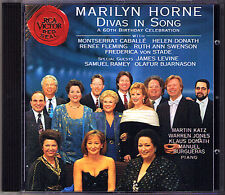 Marilyn HORNE 60 Caballe Renee Fleming Ramey Von Stade Levine CD Swenson Donath