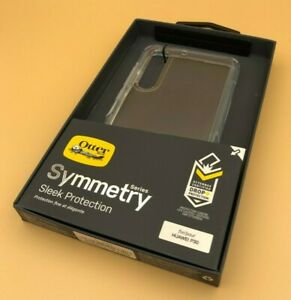 Otterbox Symmetry Series Slim Rugged Back Case Cover For Huawei P30 Clear