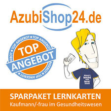 Lernkarten Sparpaket Kaufmann / Kauffrau im Gesundheitswesen Prüfung lernen