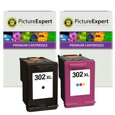 302XL Text Quality Black & Colour Ink Cartridge Pack for HP Deskjet 3636