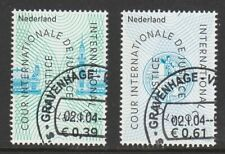 Nederland NVPH Dienst D 59-60 Cour de Justice 2004 Gestempeld