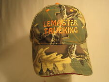 Men's Cap LEMASTER TRUCKING (Oklahoma) Size: Adjustable [Z164b]