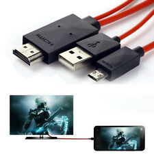 MHL Micro USB to HDMI 1080P HD TV Cable Adapter For Android Phones Samsung New