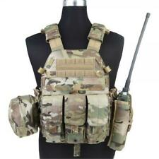 Chaqueta Táctica Vest LBT6094A Estilo Multicam