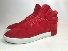 ADIDAS Originals Tubular Invader S80244 Red Sneaker Size 12 (a5