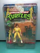 NEW Original Playmates Teenage Mutant Ninja Turtles April O'Neil 1988 Vintage