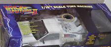 BACK TO THE FUTURE Model Iced Time Machine - DeLorean -30th Anniversary Ed. NEW