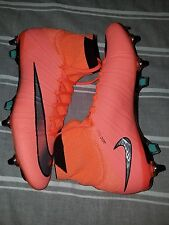 Nike Mercurial Superfly SG Pro Soccer Cleats 641860 804 Size 8.5 mango