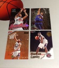 Marcus Camby 4-CARTE ROOKIE Lot NBA Basketball Trading Cards