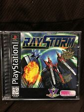 Ray Storm (PlayStation 1, PS1 1996) NEW NO WRAP read - EXCELLENT! - ULTRA RARE!