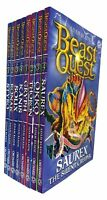 Adam Blade Collection Beast Quest Series 8 Books Set Okko the Sand Monster New