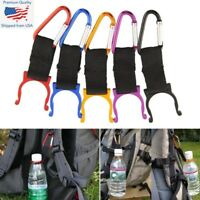 3x Carabiner Water Bottle Buckle Hook Holder Clip Camping Hiking Traveling