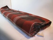 Original Vintage 1950s 60s Dressmaking Fabric  Length  Check Material 3m 80cm