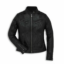 Ducati Vintage Women's Leather Jacket Size Small - 987695143