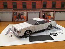Papercraft 1979 Chrysler Cordoba EZU-Make Paper Model Car Dodge Plymouth