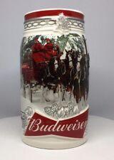 2017 Budweiser Holiday Stein Christmas Beer Mug named Holiday Retreat