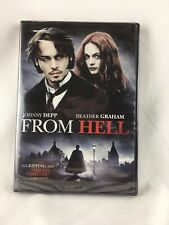 New Sealed - FROM HELL - DVD (JOHNNY DEPP, THE HUGHES BROTHERS)