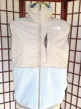 North Face Polartec Fleece Full Zip Vest Jacket Medium Baby Blue