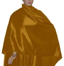 TMS GOLD Satin Veil Belly Scarf Neckerchief Hijab Tribal Club VOILE Dance EHS SV