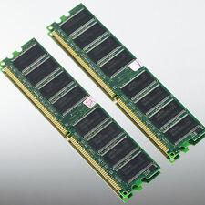 Samsung 2GB 2x1GB 1GB PC3200 DDR400 LOW DENSITY 400MHZ MEMORY DIMM desktop 64Mx8
