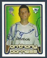 MERLIN-2005-F.A.PREMIER LEAGUE 05- #122-BOLTON-CHARLTON-CHELSEA-ANTHONY BARNESS