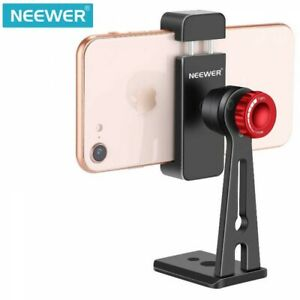 "Smartphone Holder Clip Desktop Tripod Mount Adapter For W2.2-3.5"" Neewer Japan"