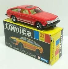 Alter TOMICA 1/63 - Nr.33 (JP) Toyota Celica LB 2000 GT (rot) - mit OVP