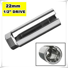 "7/8 22mm Lambda O2 Oxygen Sensor Socket Removal Tool Side Wire Cutout 1/2"" Drive"