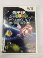 Super Mario Galaxy -case And Game Only (Nintendo Wii, 2007)