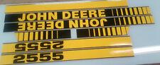 John Deere 2555 Hood Decals