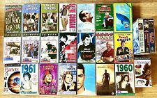 25 Vhs Assorted Titles Movies-Comedy-Sport-Music -Education