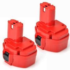 2PACK 1420 Battery for MAKITA 1422 192600-1 193985-8 6281D Drill 2.0AH 14.4V