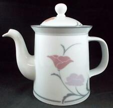Dansk BELLES FLEURS GRAY Coffee Pot with lid made in Japan GREAT CONDITION