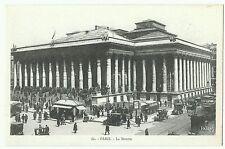 Paris,  La Bourse, Patras, Belles choses de France, unposted early street scene