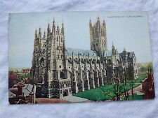 R017 CANTERBURY CATHEDRAL Valentine's 4009 Postcard