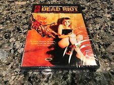 Dead Riot/Flesh For The Beast New Sealed DVD! Video Dead Silent Scream Zombie