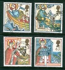 1997 GB Religious Anniversaries Used. Saints. SG 1972-1975