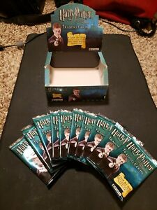 Harry Potter Trading Cards - Order of the Pheonix Set 1 - 10 Pack Lot