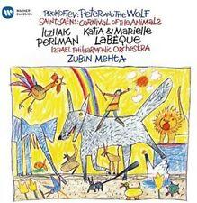 Itzhak Perlman - Carnival of the Animals / Prokofiev: Peter & Wolf [New CD]