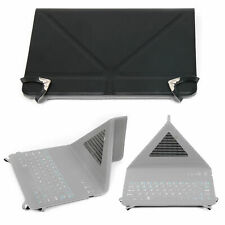 QWERTY Keyboard Case with Origami Folding Stand in Black for Google Nexus 7