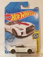 Hot Wheels 2020 - '17 Nissan GTR [R35] 2020 MODEL 50TH ANNIVERSARY [WHITE]