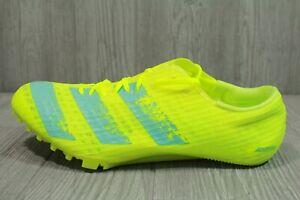 65 Adidas Adizero Finesse Yellow Track & Field Spikes Shoe Mens SZ 9-11.5 FW2249