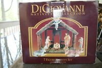 Autom Nativity Christmas DiGiovanni 7 Piece Set Plus Creche