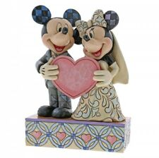 Disney Traditions Two Souls One Heart Wedding Mickey & Minne Mouse 4059748 #