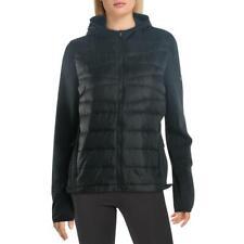 Reebok женская черная толстовка фитнес тренировки спортивная куртка M bhfo 8997