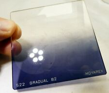 Hoya Hoyarex 522 Gradual Graduated B2 Blue color square filter 75X75mm