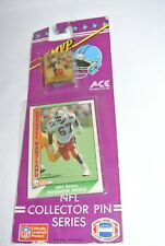MVP 1991 Russell Maryland 49ers quarterback card & pin New-Sealed-