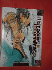 manga yaoi-IL TIRANNO INNAMORATO-N°7-DI:HINAKO TAKANAGA- MANGA MAGIC PRESS-NUOVO