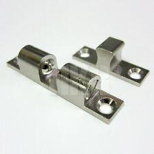 1 St Doppelkugelschnäpper Türschnäpper Metall vernickelt 11 x 60mm