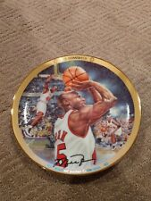 "Michael Jordan "" The Comeback "" Collectors Plate Upper Deck Bradford  #'d"